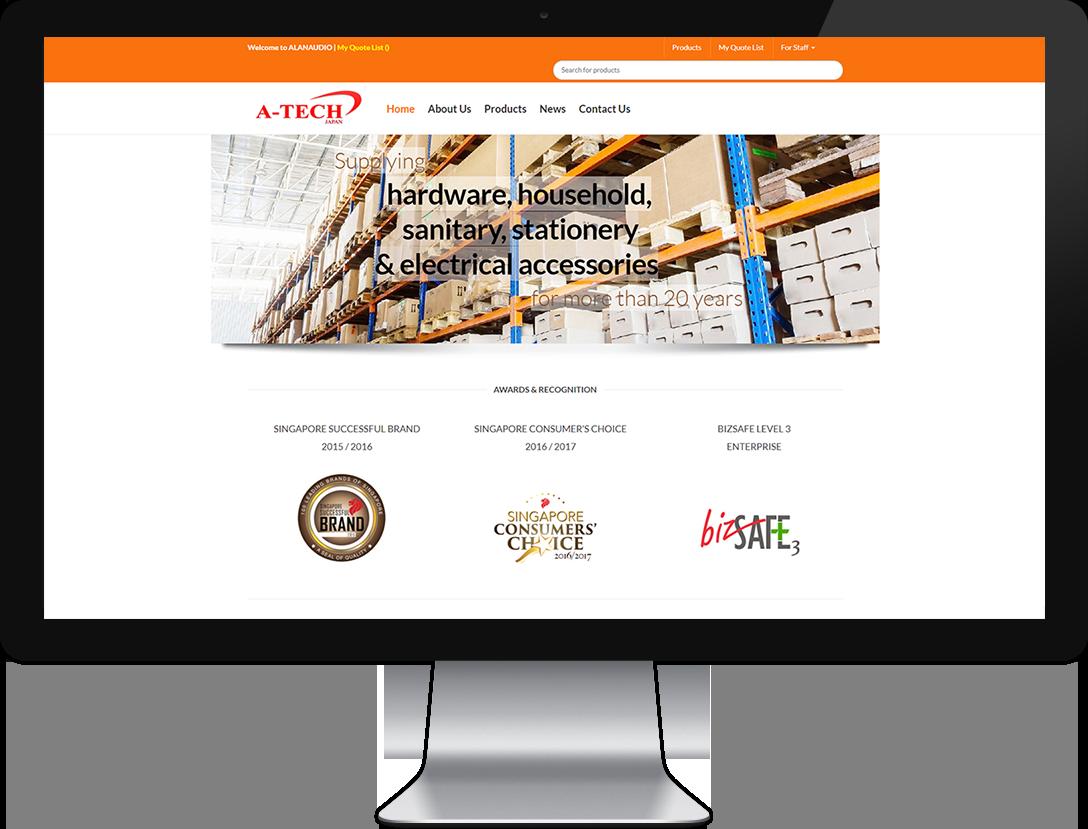 ecommerce website design and development